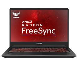 "ASUS TUF FX705DY 17.3"" AMD Ryzen 5 RX 560X Gaming Laptop - 1 TB HDD & 128 GB SSD"