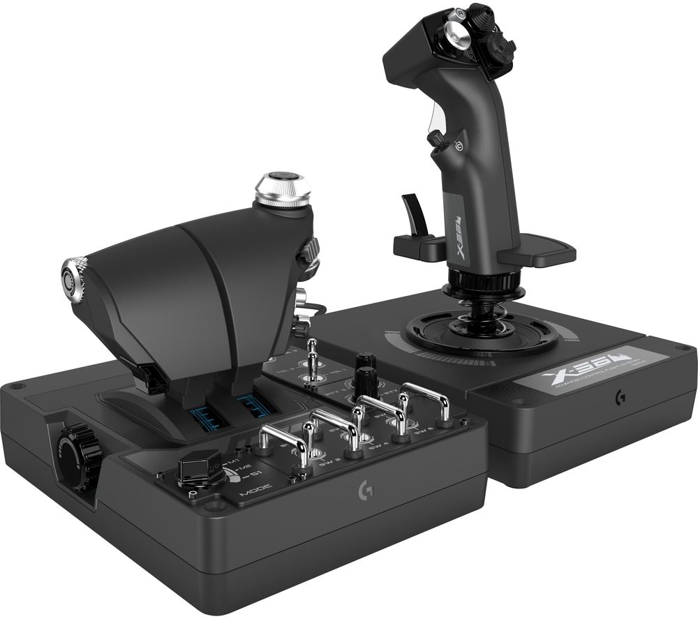 Image of SAITEK Pro Flight X56 Rhino Joystick & Throttle - Black, Black