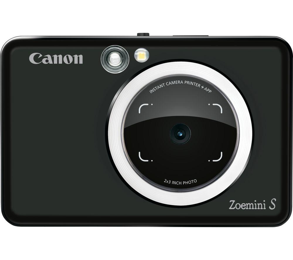 Canon Zoemini S Instant Camera Black Black