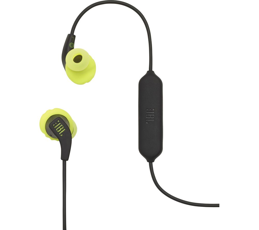 JBL Endurance Run Wireless Bluetooth Earphones - Lime & Black
