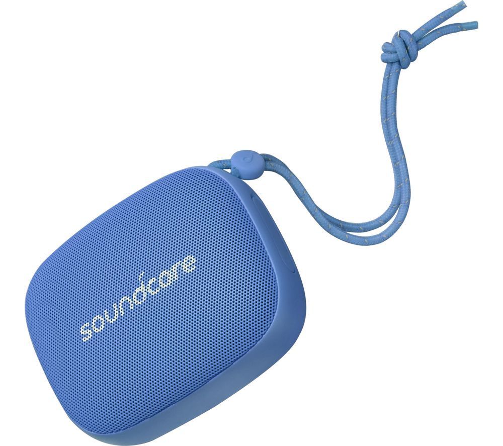 Image of Icon Mini Portable Bluetooth Speaker - Blue, Blue