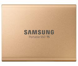 SAMSUNG T5 External SSD - 1 TB, Rose Gold