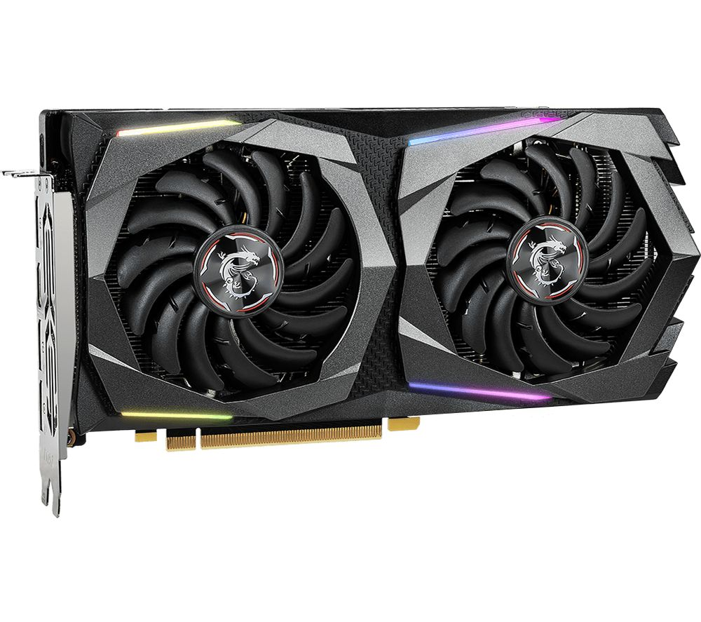Image of GeForce GTX 1660 SUPER 6 GB GAMING X Graphics Card, Red