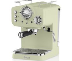 Retro Pump Espresso SK22110GN Coffee Machine - Green