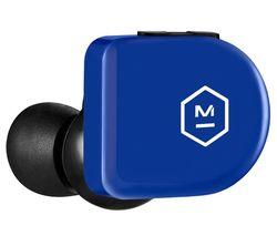MW07 GO Wireless Bluetooth Sports Earphones - Electric Blue