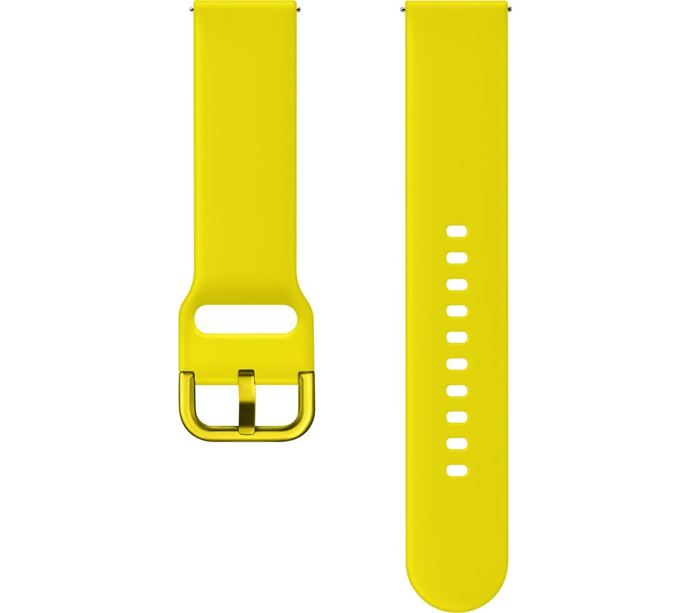 SAMSUNG Galaxy Watch Active Sport Strap - Yellow, Medium