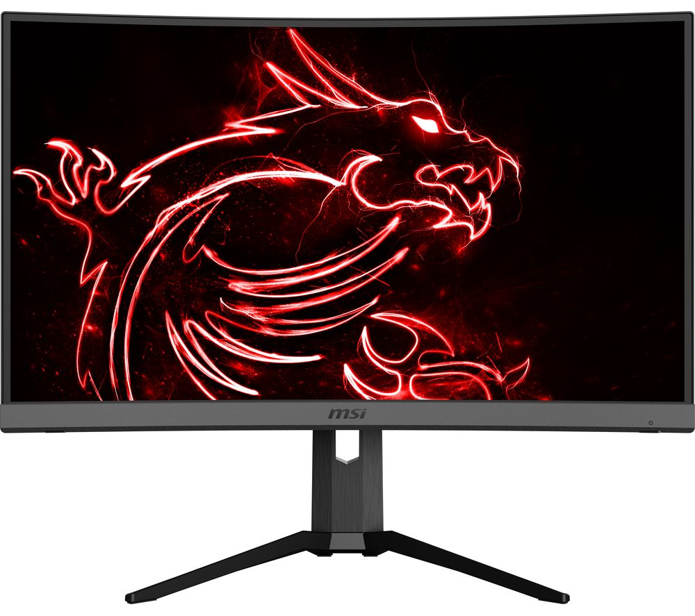 "Image of MSI Optix MAG272CQR Quad HD 27"" Curved LED Gaming Monitor - Black, Black"