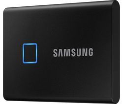 T7 Touch External SSD - 2 TB, Black