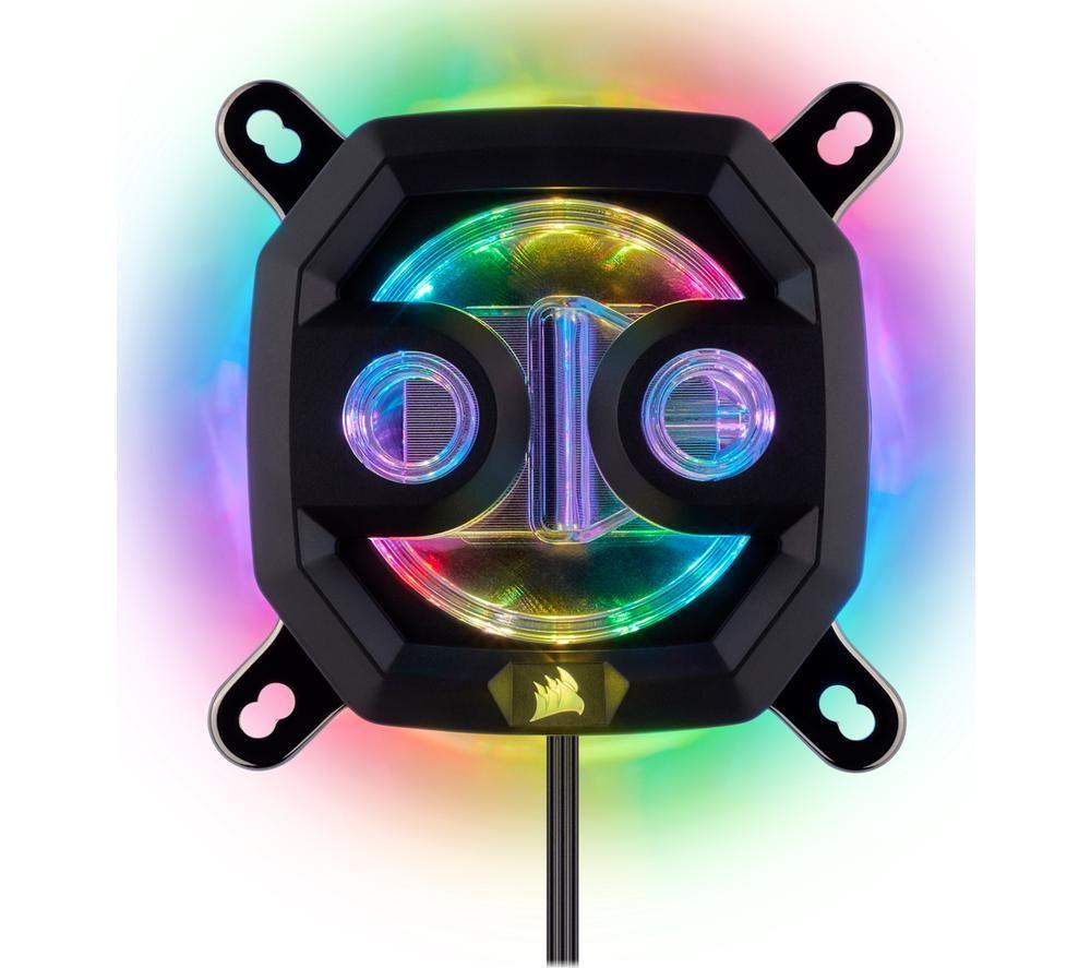 CORSAIR Hydro X Series XC7 RGB CPU Water Block - Nickel & Copper