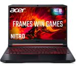 £629, ACER Nitro 5 15.6inch Gaming Laptop - AMD Ryzen 5, GTX 1650, 256 GB SSD, AMD Ryzen 5 3550H Processor, RAM: 8GB / Storage: 256GB SSD, Graphics: NVIDIA GeForce GTX 1650 4GB, Full HD screen, Battery life:Up to 7 hours,