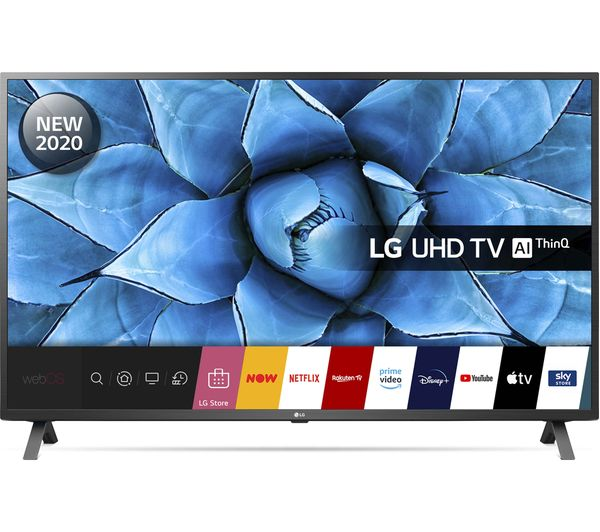 "LG 55UN73006LA 55"" Smart 4K Ultra HD HDR LED TV with Google Assistant & Amazon Alexa"