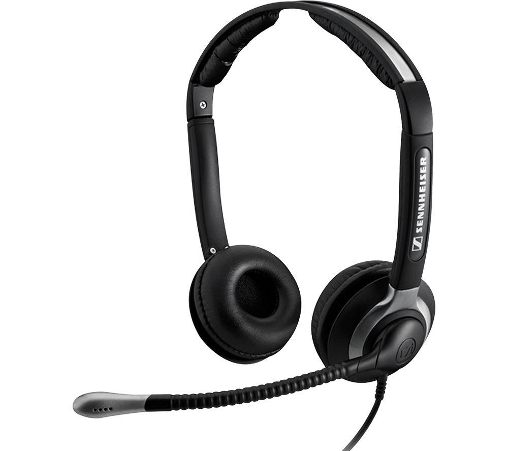 Image of SENNHEISER CC 550 Headset - Black, Black