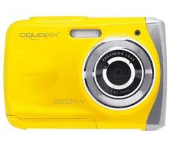 Splash W1024 High Performance Compact Camera - Yellow