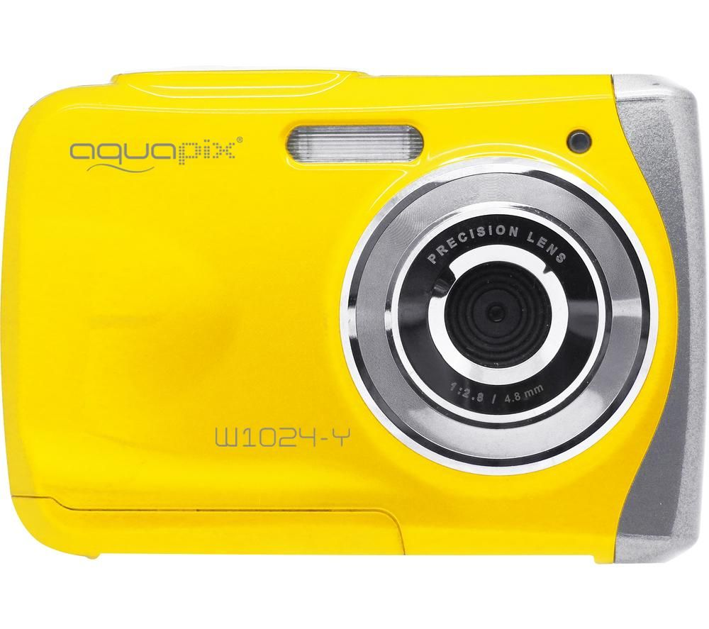 AQUAPIX Splash W1024 High Performance Compact Camera - Yellow