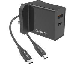 PowerPlus 2-Port Universal USB Charger - 1.5 m