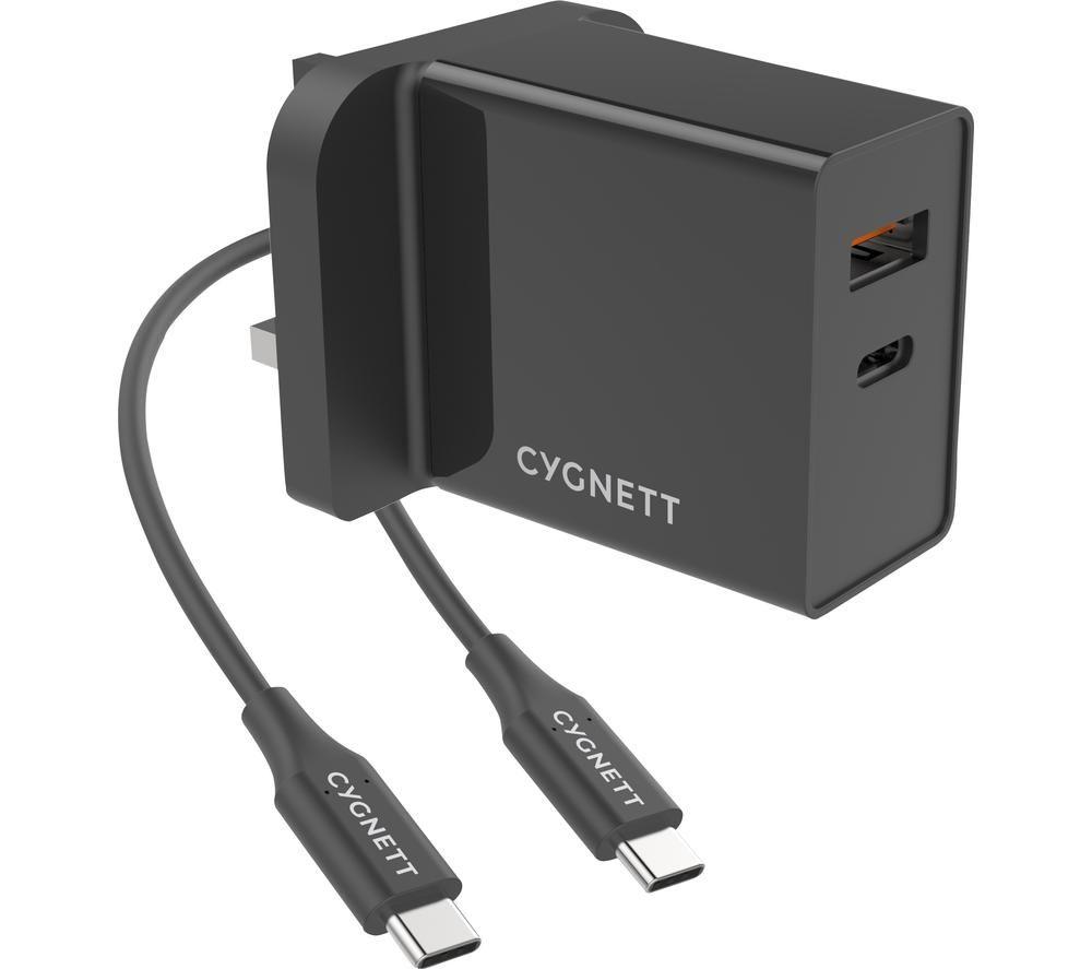 CYGNETT PowerPlus 2-Port Universal USB Charger - 1.5 m