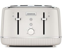 Elegancy TFP10.A0CR 4-Slice Toaster - Cream