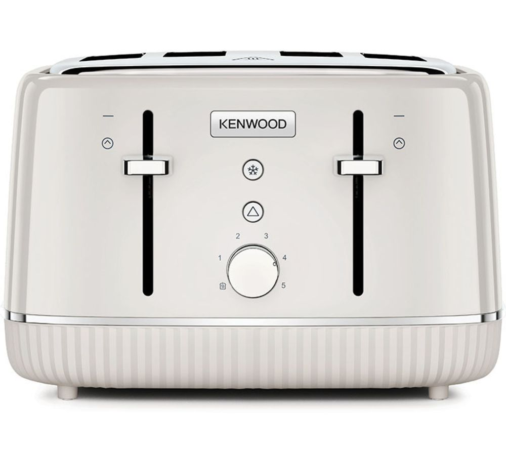 KENWOOD Elegancy TFP10.A0CR 4-Slice Toaster - Cream