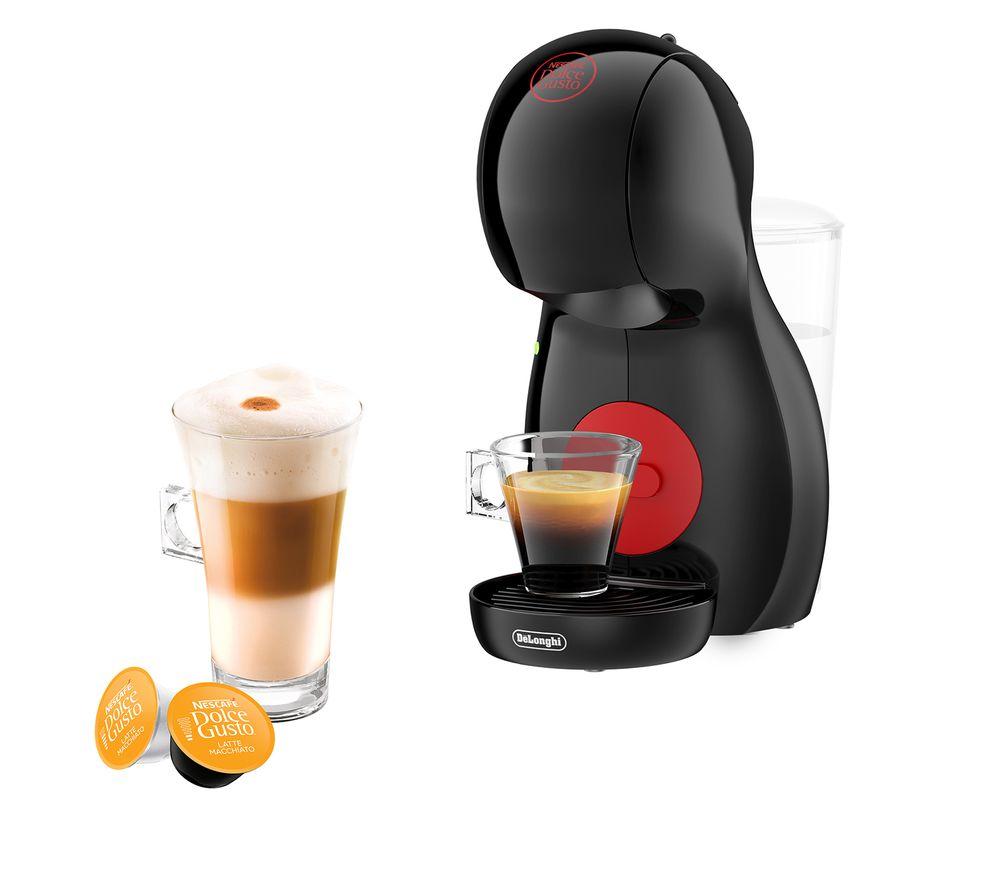 DOLCE GUSTO by De'Longhi Piccolo XS Manual EDG210B Coffee Machine - Black