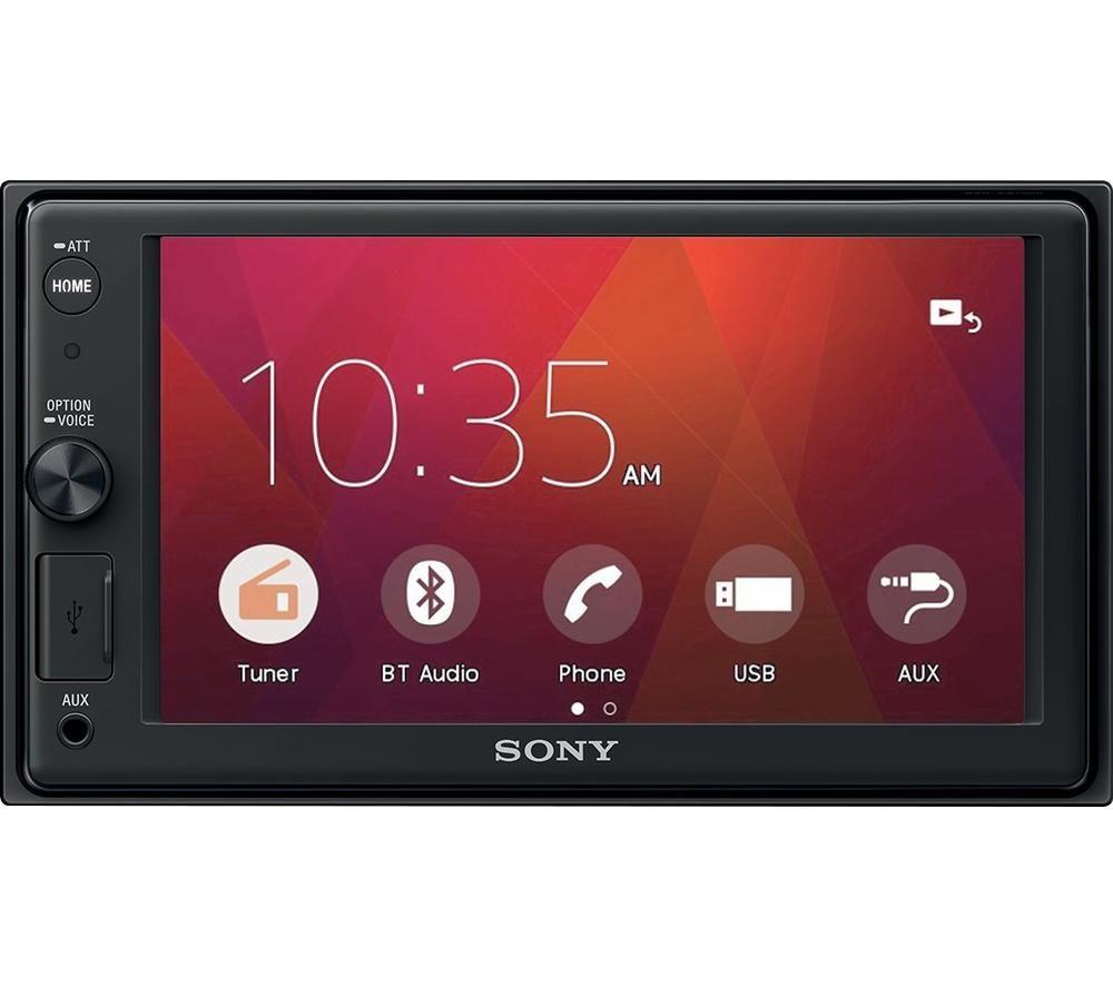 Image of SONY XAV-AX1000 Smart Bluetooth Car Radio - Black, Black