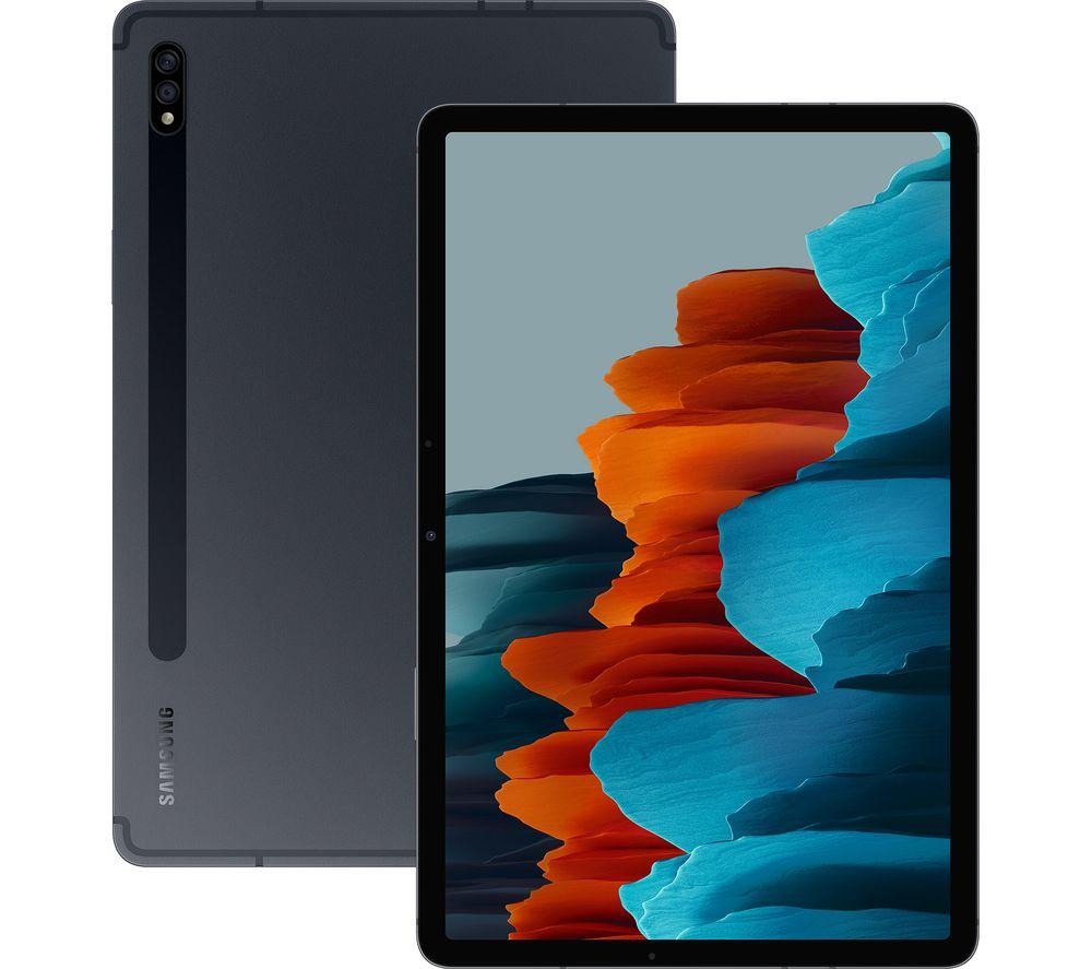 "SAMSUNG Galaxy Tab S7 11"" Tablet - 128 GB, Mystic Black"