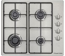 RH60GH401SS Gas Hob - Stainless Steel