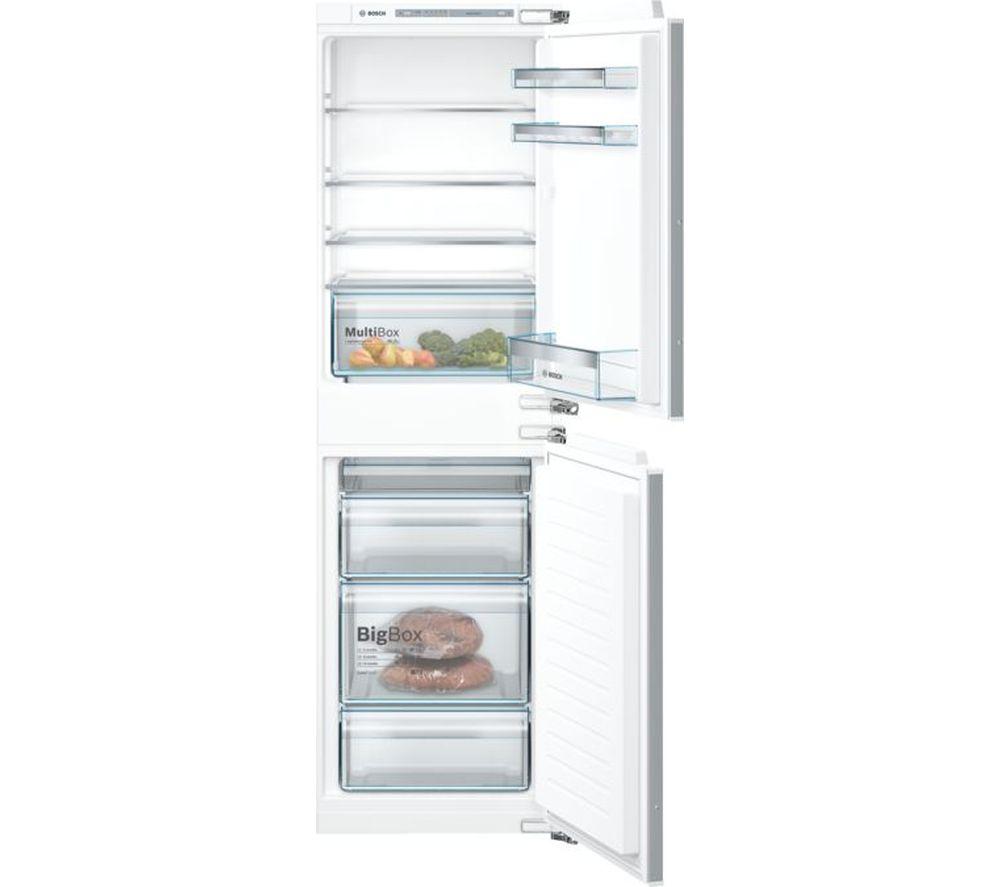 BOSCH Serie 4 KIV85VFF0G Integrated 50/50 Fridge Freezer - Fixed Hinge