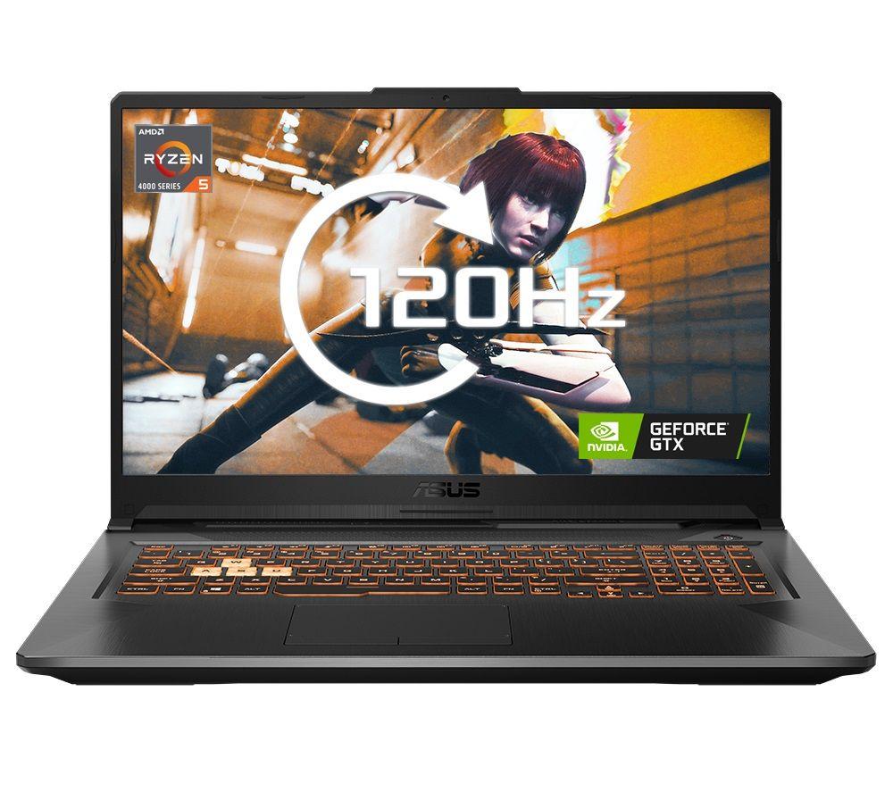"""Image of ASUS TUF A17 17.3"""" Gaming Laptop - AMD Ryzen 5, GTX 1650, 256 GB SSD"""