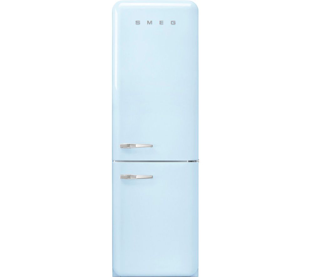 SMEG FAB32RPB5UK 70/30 Fridge Freezer - Pastel Blue