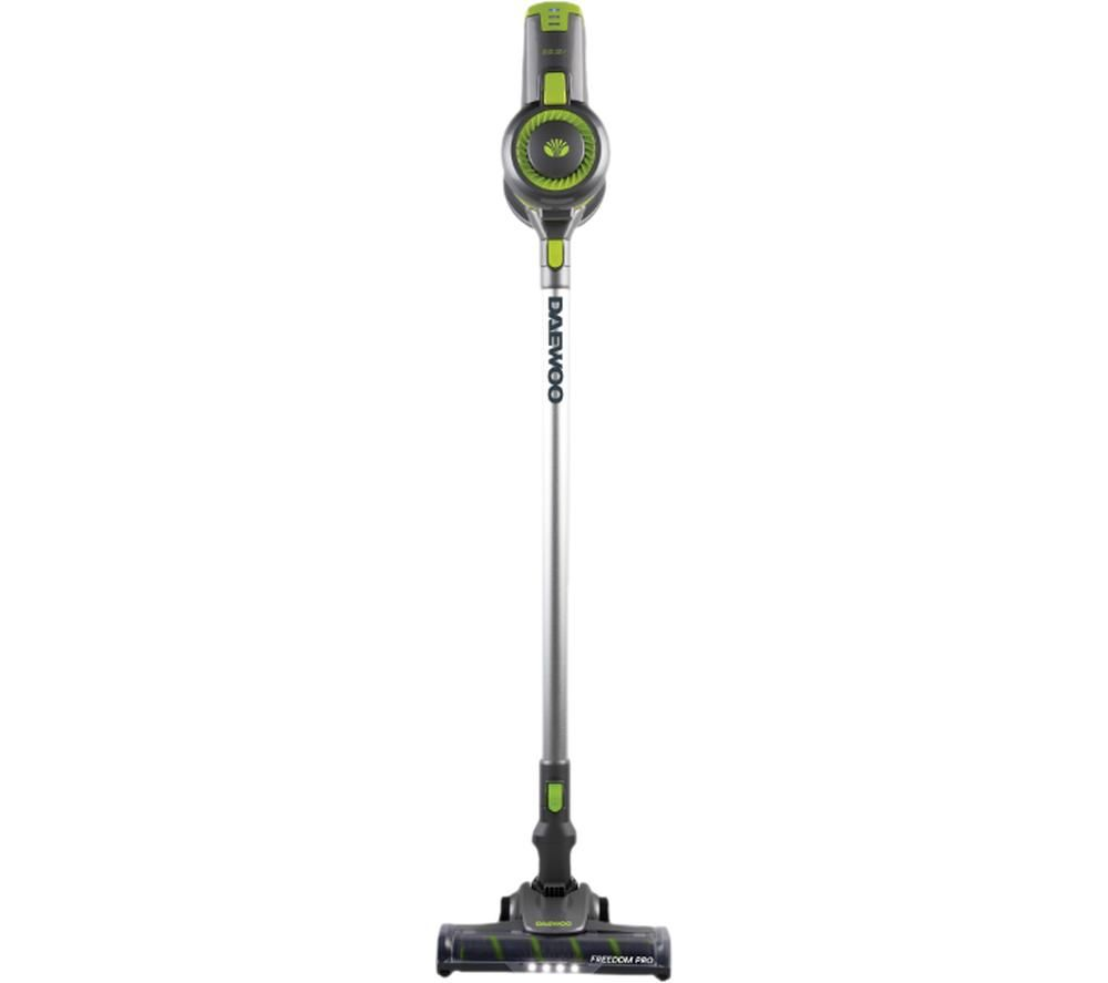DAEWOO Cyclone Turbo Pro FLR00040 Cordless Vacuum Cleaner - Grey & Green