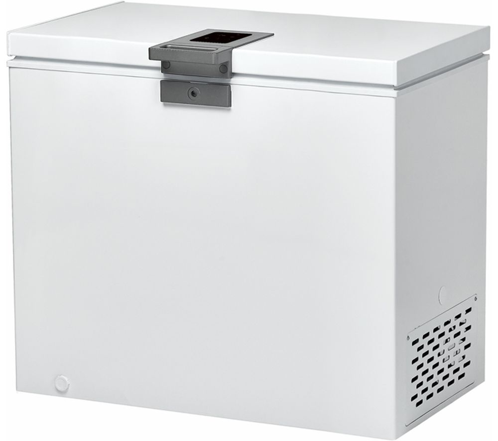 HOOVER HMCH 202 EL Chest Freezer - White