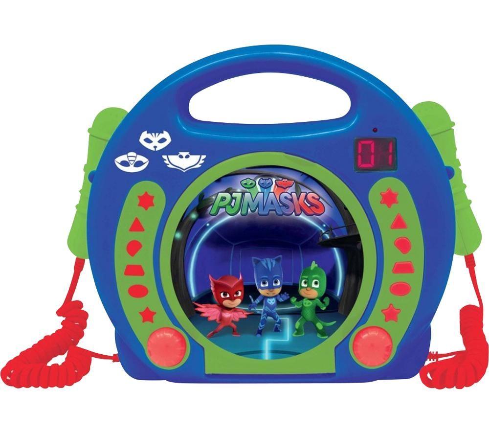 LEXIBOOK RCDK100PJM CD Player with Microphones - PJ Masks