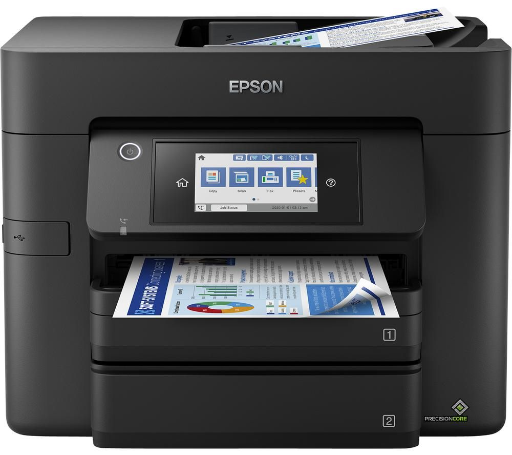 EPSON WorkForce Pro WF-4830DTWF All-in-One Wireless Inkjet Printer with Fax