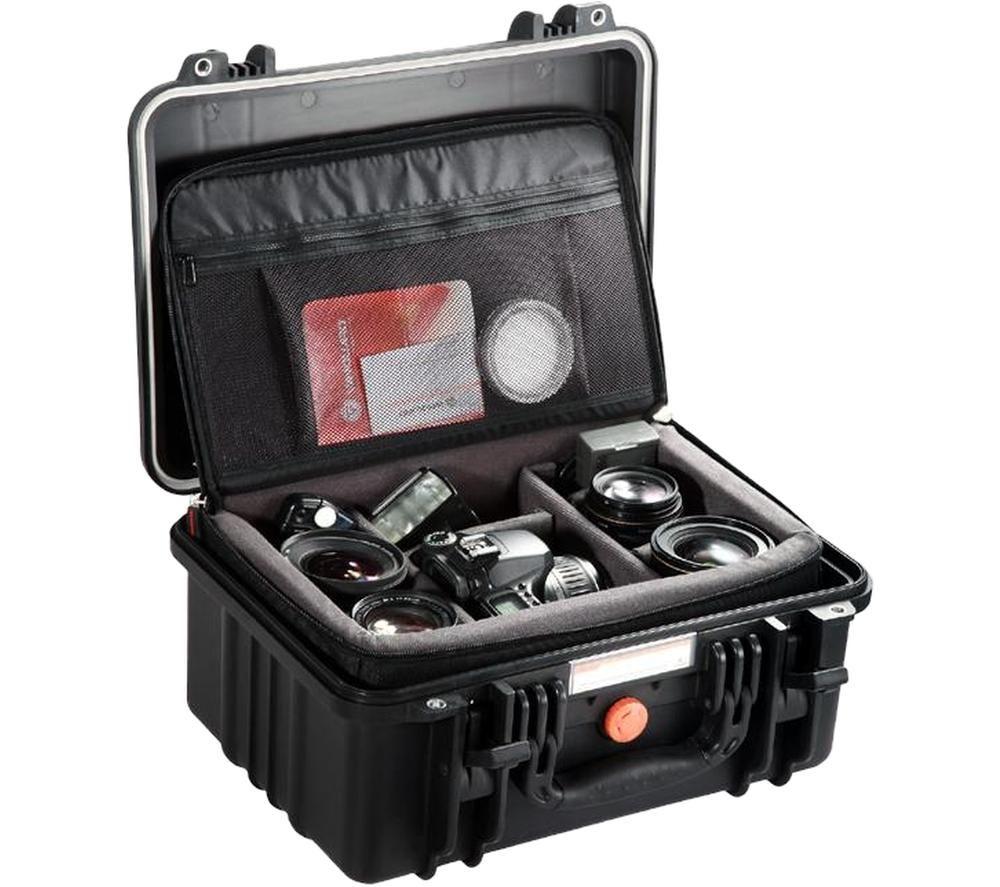 VANGUARD VGCSUP37D Supreme 37D Hard Shell Camera Case - Black, Black