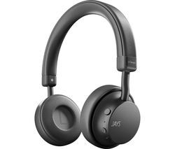a-Seven Wireless Bluetooth Headphones - Grey