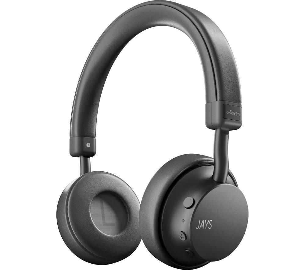 JAYS a-Seven Wireless Bluetooth Headphones - Grey