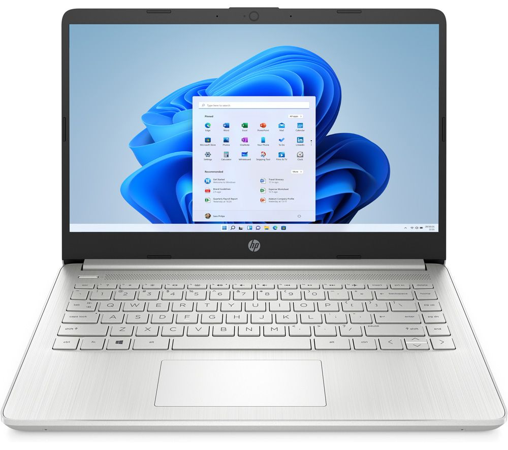 "HP 14s-dq2512na 14"" Laptop - Intel® Core™ i5, 256 GB SSD, Silver"