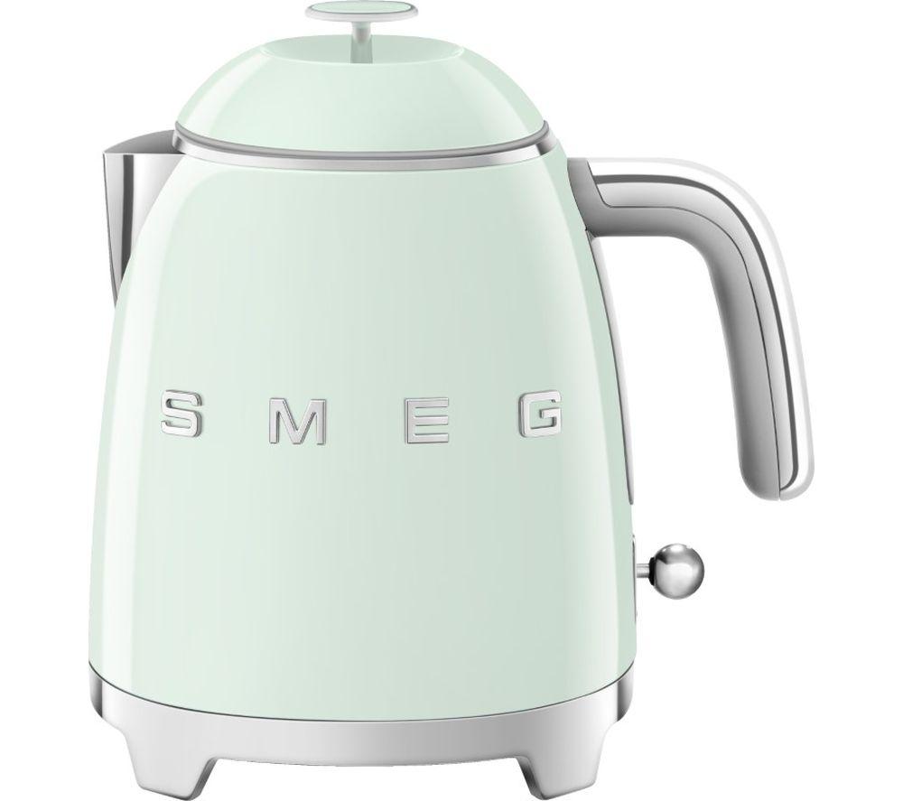 SMEG 50's Retro Style Mini KLF05PGUK Jug Kettle - Pastel Green