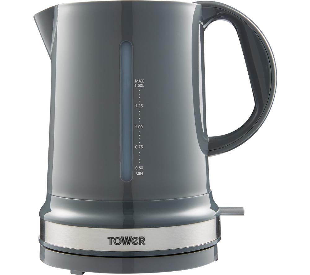 TOWER Belle T10049GRP Jug Kettle - Graphite Grey