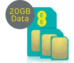 4G SIM Card - 20 GB