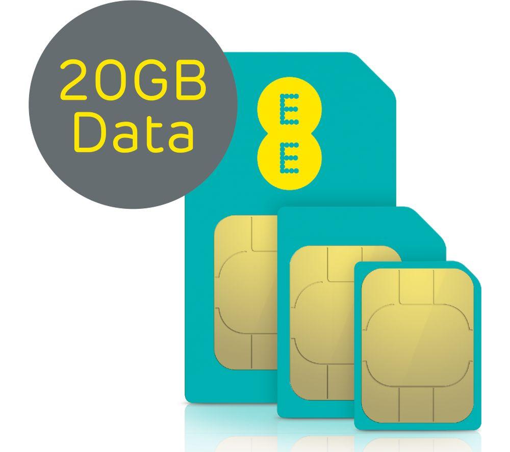 EVERYTHING 4G SIM Card - 20 GB