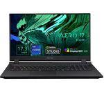 £4299, GIGABYTE AERO HDR 17YD 17.3inch Gaming Laptop - Intel® Core™ i9, RTX 3080, 1.5 TB SSD, Unlocked Intel® Core™ i9-11980HK Processor, RAM: 32GB / Storage: 1 TB SSD & 512GB SSD x 1, Graphics: NVIDIA GeForce RTX 3080 8GB, 4K Ultra HD screen, Battery life:Up to 8 hours,