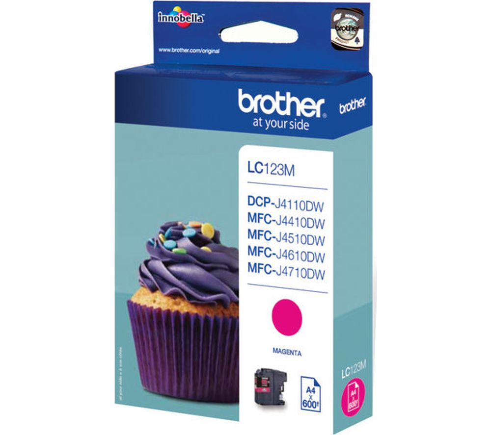 Compare retail prices of Brother LC123M Magenta Ink Cartridge to get the best deal online