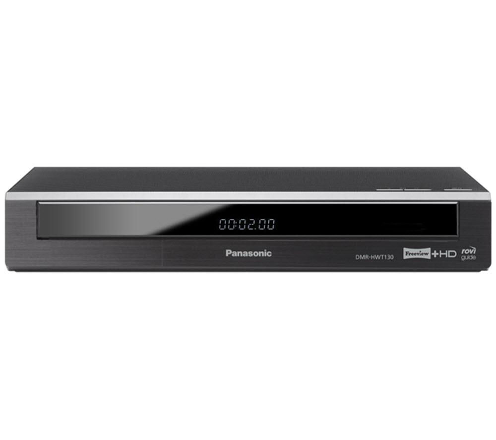 PANASONIC DMR-HWT130EB Freeview+ HD Smart Digital TV Recorder - 500 GB