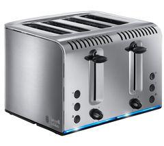RUSSELL HOBBS Buckingham 4-Slice Toaster - Stainless Steel