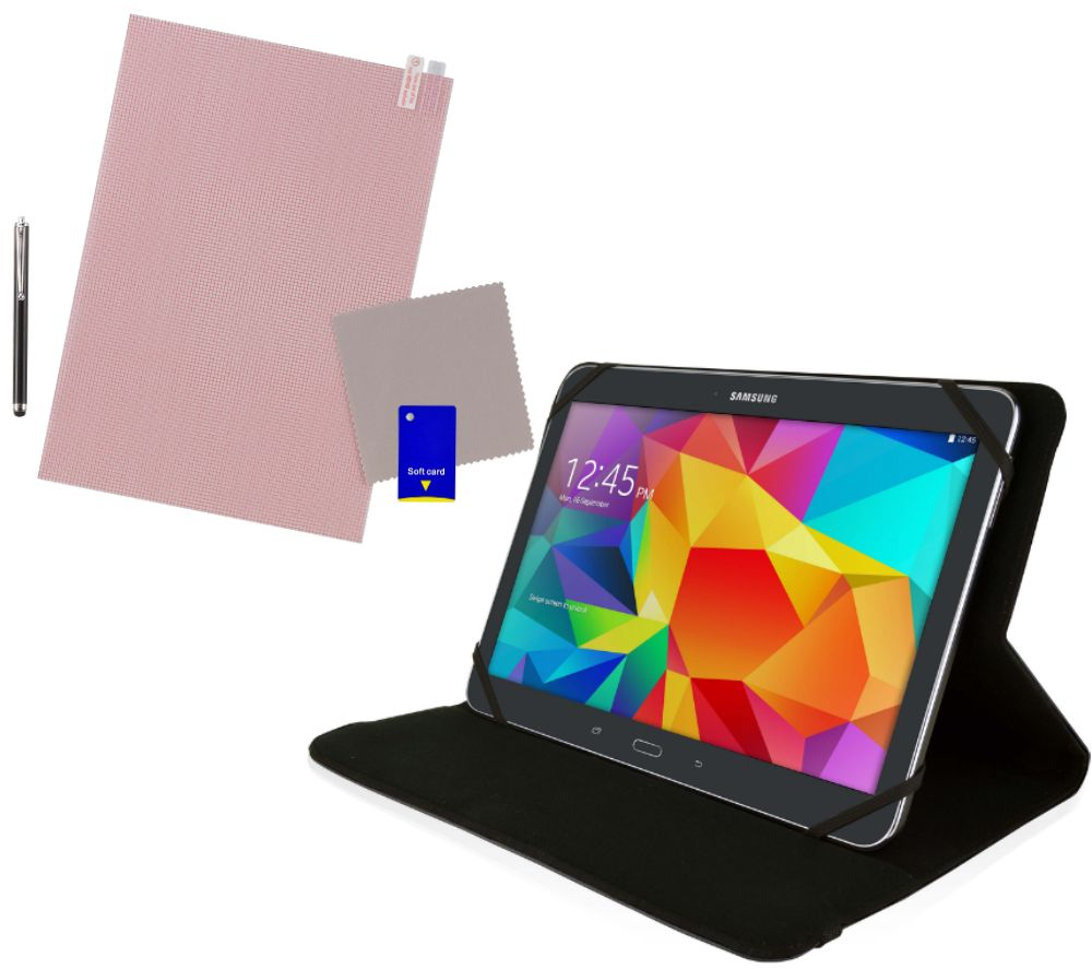LOGIK L10USBK16 10 inch Tablet Starter Kit - Black