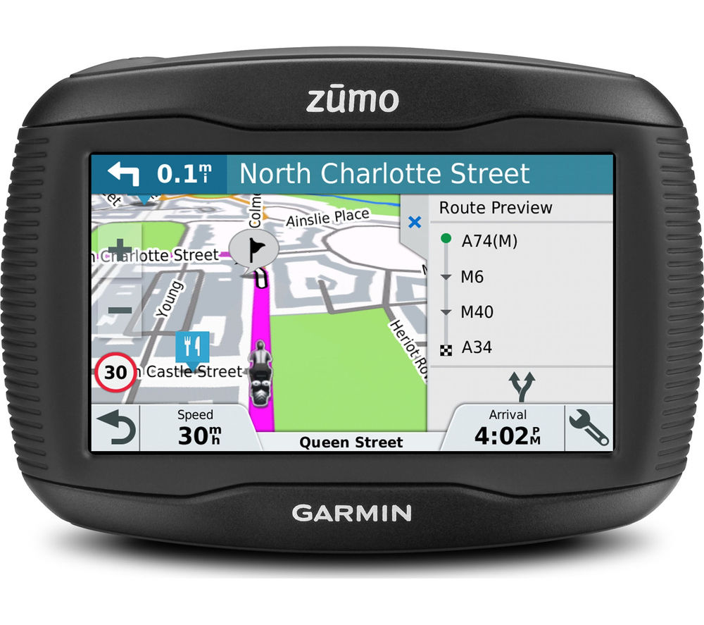"GARMIN Zumo 395LM EU Motorcycle 4.3"" Sat Nav - with UK, ROI & Full Europe Maps"