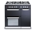 KENWOOD CK503 Dual Fuel Range Cooker - Black