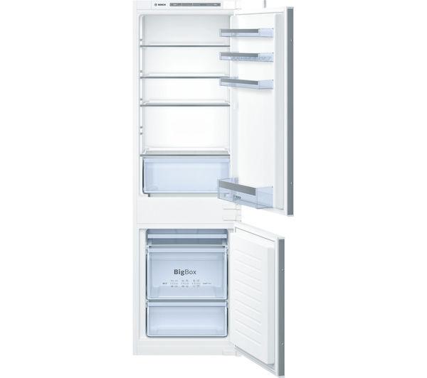 Image of BOSCH Serie 4 KIV86VS30G Integrated 60/40 Fridge Freezer - Sliding Hinge