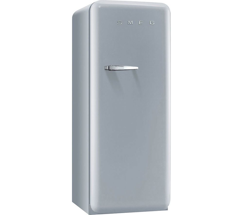 SMEG FAB28QX1 Tall Fridge - Silver